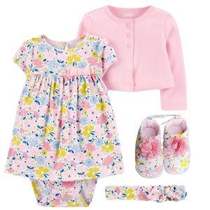 🏷 Carter's • Dress Set w/ Shoes